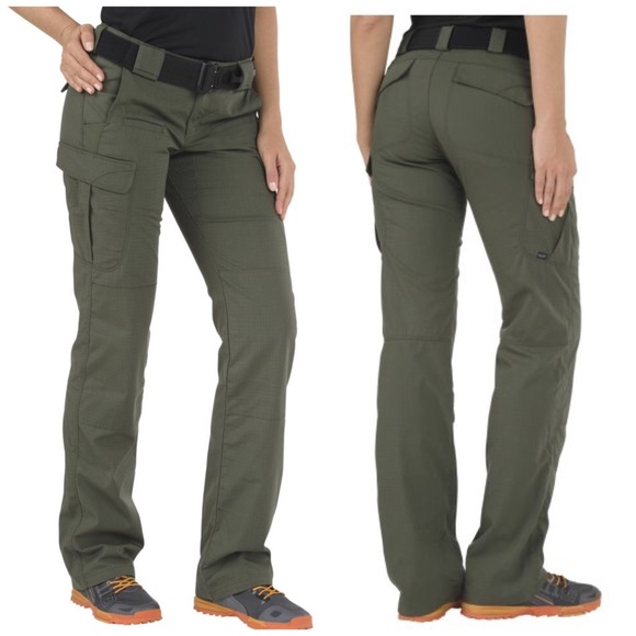b6410ae4524 5.11 Tactical Pants - 5.11 Tactical Stryke Pants Green Cargo Womens 28